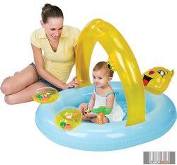 Bestway Baby Steps macis bébi élménymedence 102x94x76cm (SMA079)