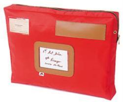 Alba Piros postázó tasak 42x5x32cm (CSACSOUP)