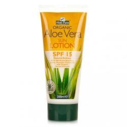 Optima Aloe Vera fényvédő testápoló SPF 15 - 200ml