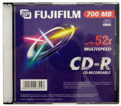 Fujifilm CD-R 700MB 52x - Vékony tok