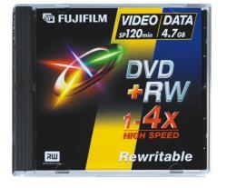 Fujifilm DVD+RW 4.7GB 4x - 5db