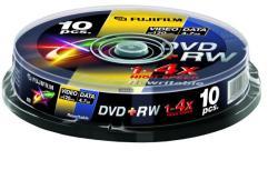 Fujifilm DVD+RW 4.7GB 4x - Henger 10db