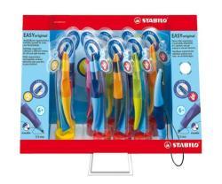 STABILO EasyOriginal rollertoll display (9db) 0.3mm, jobb- és balkezes, vegyes színű tolltestek - Kék (TST689019)