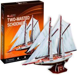 CubicFun Two Masted Schooner 3D (T4007H)