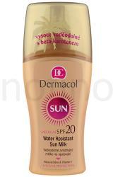 Dermacol Sun Water Resistant vízálló napozótej spray SPF 20 - 200ml