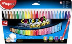 Maped Color'Peps filctoll készlet (24db) ruhából könnyen kimosható - 24 különböző szín (IMA845022)