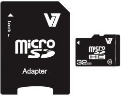 V7 MicroSDHC 32GB Class 10 VAMSDH32GCL10R-2E