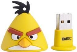 EMTEC Angry Birds Yellow Bird A102 8GB USB 2.0 ECMMD8GA102