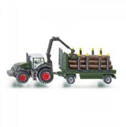 Siku Rönkszállító traktor 1:87 (1861)