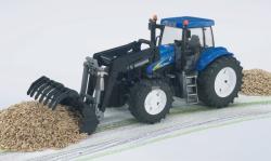 BRUDER New Holland T8040 traktor markolóval (03021)