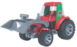 BRUDER ROADMAX traktor homlokrakodóval
