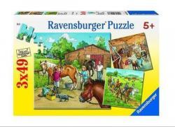 Ravensburger Lovasiskola 3x49