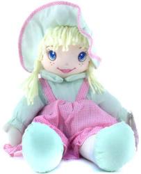 Simba Dolly plüssbaba rózsaszín-zöld ruhában 45 cm