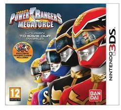 Namco Bandai Power Rangers Megaforce (3DS)