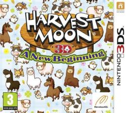 Rising Star Games Harvest Moon A New Beginning (3DS)