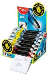 Maped Visio Pen golyóstoll display (18db) 0.7mm, balkezes - Vegyes színek (IMA224335)
