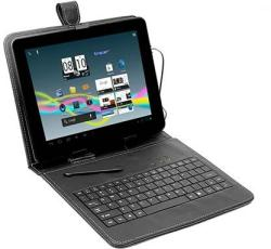 "Tracer Tablet Case with micro USB Keyboard 7"" - Black (43252)"