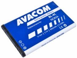 Compatible Nokia Li-Ion 900 mAh BL-4C