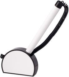 ICO Mini ügyféltoll 0.8mm, fehér-fekete tolltest - Kék (TICMNPPFFK)