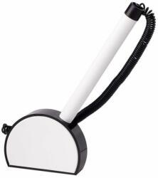 ICO Mini ügyféltoll 0.8mm, fekete-fehér tolltest - Kék (TICMNPPFKF)