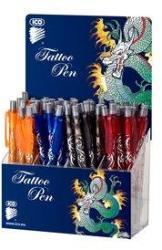 ICO Tattoo Pen golyóstoll készlet (48db), vegyes szín (TICTAT)