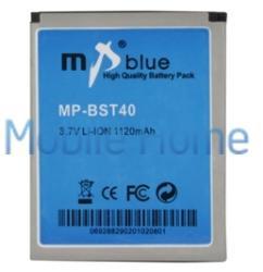 Utángyártott Sony Ericsson Li-ion 1120 mAh BST-40