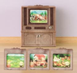 Sylvanian Families Színes TV berendezés