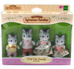 Sylvanian Families Szürke cica család