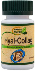 Vitamin Station Hyal-Collag tabletta 30db