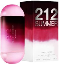 Carolina Herrera 212 Summer EDT 60ml Tester