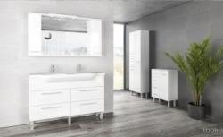 tBoss Bianka trend 130 alsó szekrény mosdótál