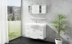 tBoss Bianka elegant 120 alsó szekrény mosdótál