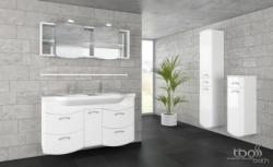 tBoss Bianka elegant 130 alsó szekrény mosdótál