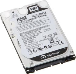 "Western Digital Black 2.5"" 750GB 7200rpm 16MB SATA3 WD7500BPKX"