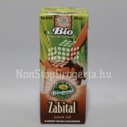 Biopont Bio kakaós zabital 200ml