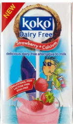 Koko Dairy Free Kókusztej ital, epres 250ml