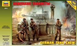 Zvezda German Tank Crew WWII Late 1/35 3614