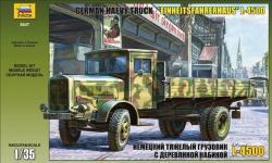Zvezda L-4500S Einheitskabine 1/35 3647