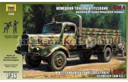 Zvezda L4500A Schwerer LKW 4.5t WWII 1/35 3596