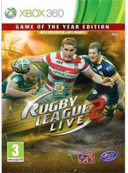 Tru Blu Entertainment Rugby League Live 2 [Game of the Year Edition] (Xbox 360)