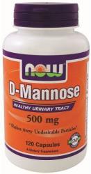 NOW D-Mannose kapszula 500mg (120db)
