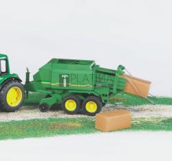 BRUDER Bálázógép John Deere traktorhoz (02017)