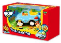 WOW Toys Ryan, az utánfutós terepjáró