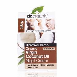 Dr. Organic Bio Kókuszolaj éjszakai krém - 50ml