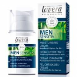 Lavera Men Sensitive bőrtápláló hidratáló arckrém 30ml