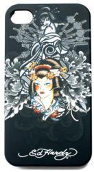 ED HARDY by Christian Audigier Geisha Faceplate iPhone 4/4S