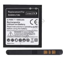 Utángyártott Sony LI-ION 1900 mAh BA800