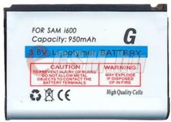 Compatible Samsung LI-Polymer 950 mAh AB663450C