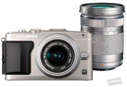 Olympus PEN E-PL5 + EZ-M1442 II R 14-42mm + EZ-M4015 R 40-150mm (V205042BE010)