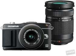 Olympus PEN E-PM2 + EZ-M1442 II 14-42mm + EZ-M4015 40-150mm (V206022BE010)